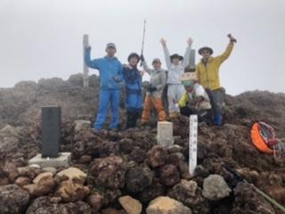 七高山2199mに登頂