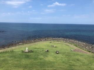 さんねむの丘からの日本海